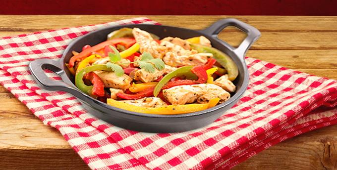 Barbekü soslu dana rosto ve ıspanak borani